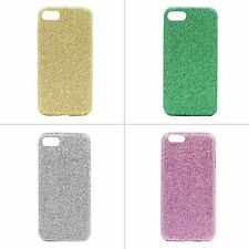 Diamond  Bling Snap on Rubberized  Anti-Slip Back Shining Case for iPhone 7 New