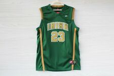Lebron James #23 Green St.Mary High School Irish Jersey Cleveland Cavallers NWT