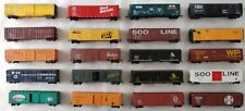 Quality HO Scale 50' Steel Boxcars & Reefers- Kadee Couplers Variation Listing