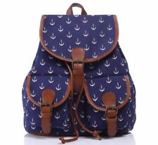 Women Causal Style New Design Canvas Fabric Candy Color Backpack YI26