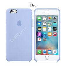 Lilac Original Ultra-Thin Genuine Silicone Back Case Cover For iPhone 6 6s Plus