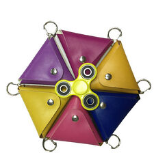 Triangle Storage Bag For Fidget Hand Spinner Toy Protection Case Bag Anti