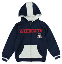 J America Boys Arizona Wildcats Two Tone Polyester Full Zip Hoodie Blue