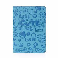 Pu Leather Travel Passport Id Card Holder Cover For Unisex Q706