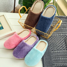 Unisex Winter Warm Soft Home Non-Silp Candy Color Slippers Indoor Shoes Showy