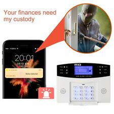 Smart Home Burglar Security Alarm System APP Control Voice Prompt Alarm Kit PL