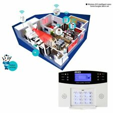 Smart Home Burglar Security Alarm System APP Control Voice Prompt Alarm Kit KI