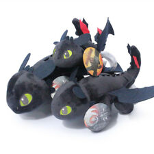 How to Train Your Dragon Night Fury Toothless Stuffed Animal Plush Doll Toy Gift