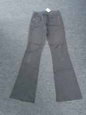 ELIE TAHARI Chocolate Brown Tencel Blend Embroidered Casual Pants Size 6 DD3708