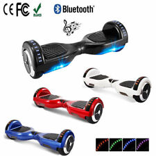 Bluetooth Self Balancing Electric Scooters LED Smart Self Electric Hover Board