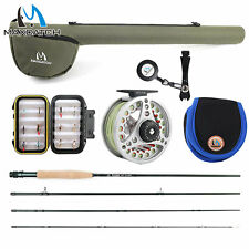 Extreme 3/4/5/6/7/8/10WT Fly Rod Outfit/Combos Fishing Fly Reel Fly Line Flies