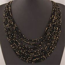 New Casual Fashion Bohemia Bead Decorative Chain Choker Necklace