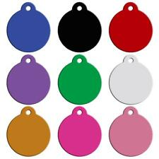 Personalised Dog Pet Cat ID Tags Custom Engraved Name Identity Tags
