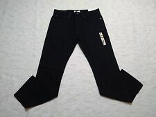 GAP 1969 JEANS MENS STANDARD  SIZE 33X34 BLACK COLOR ZIP FLY NEW WITH TAGS