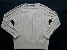 NAUTICA SWEATER MENS CREWNECK SIZE XL LONG SLEEVES NEW WITH TAGS