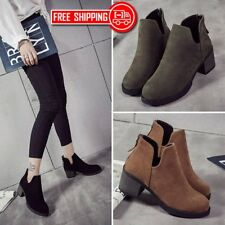 2017 Winter Women Boots Casual Suede Leather High Heel Pointed Toe Boots GA