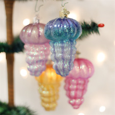 *Jellyfish - 4 Colors* [12147] Old World Christmas Ornament - NEW