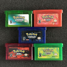 Pokemon Game Card 5 Versions for Pokemon GBA/GBM/SP/NDS GameBoy  Collection