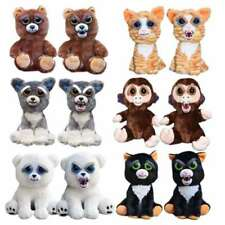 Lovely New Brand Baby Monkey Pets Expression Stuffed Doll Varieties Face Xmas