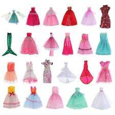 Dress Clothes For Barbie Doll Party Lace Sequin Gown Outfit Cheongsam Shoes Accs