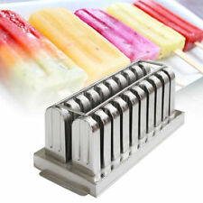 20pcs Stainless Steel Ice Cream Sticks Mold Ice Lolly Popsicle Mold Pop Holder