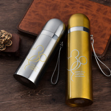 500 Stainless Steel Water Tea Coffee Flask Thermos Vacuum Cup Travel Insulated M