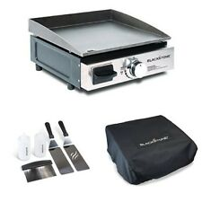 Blackstone Grill Griddle Outdoor Portable Gas Grill + Griddle Kit & CarryBag NEW