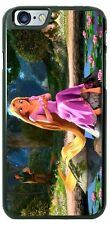 Disney Rapunzel Tangled holding lily pad Phone Case Cover fits iPhone Samsung LG