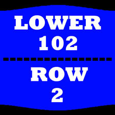 2 TIX KATT WILLIAMS 2/3 SEC 102 ROW 2 NRG ARENA HOUSTON