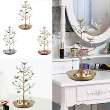 Iron Tree Stand Display Organizer Necklace Ring Earring Holder Jewelry Show Rack