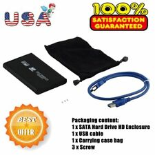 New USB 3.0 2.5In SATA External Hard Drive Mobile Disk HD Enclosure/Case Box KE