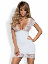 Noble Bridal Negligee Baby Doll Lace Lingerie Sexy Wedding 3 Colors