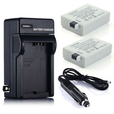 LP-E5 Battery + Charger For Canon Rebel T1i XS XSi EOS 450D 500D 1000D Kiss X3