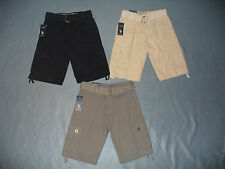 NWT Boys Belted Ripstop Cargo Shorts by US Polo Assn - U Pick Size + Color - $36