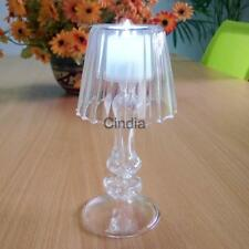Crystal Glass Desk Lamp Candlestick Tealight Candle Holder Wedding Xmas Decor