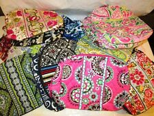 VERA BRADLEY Large Cosmetic Bag NEW Variety of Retired Rare Patterns