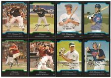 2004 Bowman Draft Picks Complete Team Set 27 Available Rookie RC DP 04