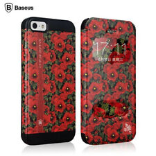 BASEUS Ladies Collection Blossom Filp Leather Case Cover For Apple iPhone 5 5S
