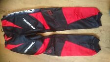 ONEAL YOUT ELEMENT RED AND BLACK MOTOCROSS TROUSERS BMX MTB CHILDS 28 ""