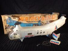 Vintage REMCO WHIRLYBIRD RESCUE HELICOPTER w BOX For Parts Key pieces Clean