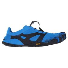 Vibram Five Fingers KSO Evo Blue Black Mens Mesh Synthetic Gym Running Trainers