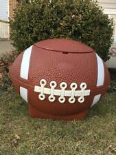 Little Tikes Football Toy Box Plastic Chest Cooler Hamper Tailgate Party