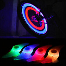 4 pcs Colourful Bike Bicycle Cycling Wheel Spoke Tire Wire Tyre LED Lights Lamps