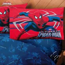 Spiderman Attack Superhero  Comforter Set - Add Sheet Set
