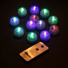 Waterproof Submersible LED Light Festival Christmas Wedding Party Decor w Remote