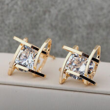 New Women's Gold Plated Dangler Earbob Wedding Stud Earrings Fashion Jewelry