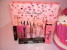 TOO FACED FUNFETTI LIPGLOSS/INJECT/MELTED/HANGOVER/BULLETPR LINER/CATEYE & MORE