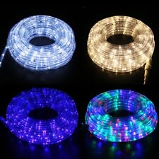 LED Rope Light Strip Christmas Decor 8 Lighting Mode Xmas Custom Indoor Outdoor