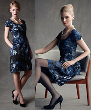 Banana Republic The Mad Men Collection Blue Begonia Sheath dress