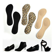 Heel Foot Cushion Pad 3/4 Insole Shoe pad For Vogue Women Orthotic Arch Support